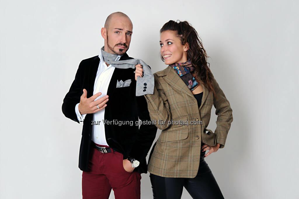Mit 1. April haben Corinna Schachner (27) und Enrico Maggi (34) das Franchise für Tirol beim Unternehmernetzwerk Business Network International (BNI) übernommen. (c) Monika Zore-Luh (23.04.2014)