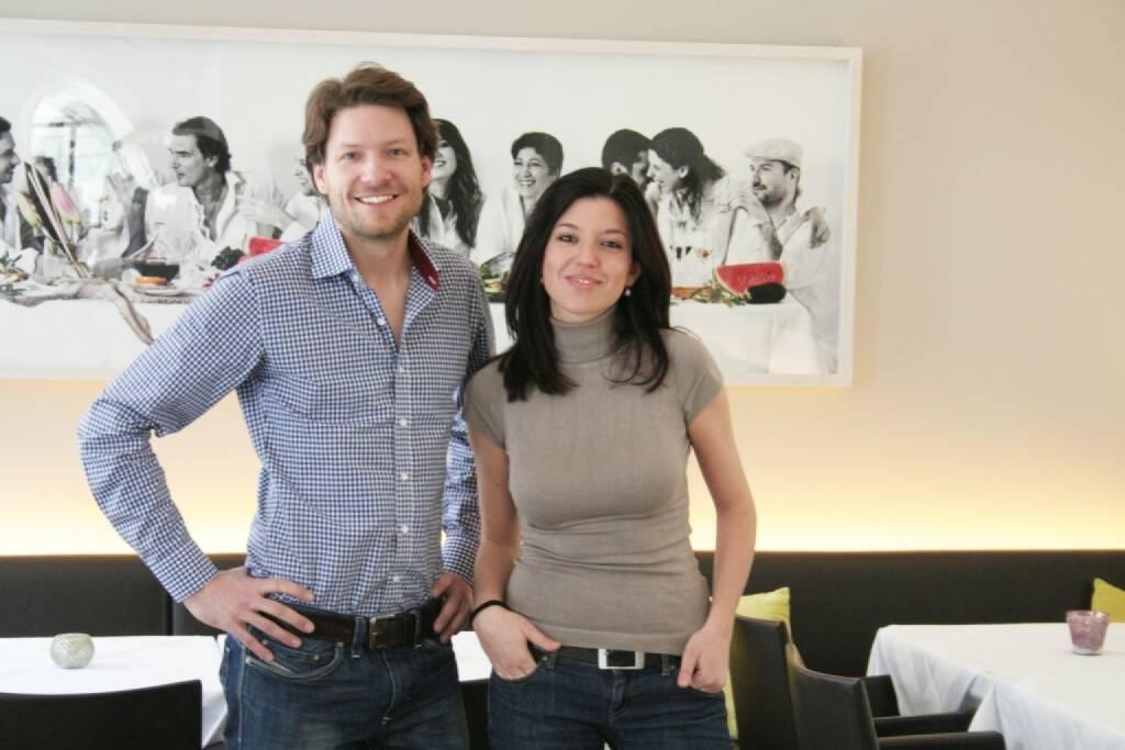 Crowdfunding via Conda: HeimSchmecker Gründer Michael Ploberger und Caroline Sarrazin (c) Aussendung (27.04.2014)