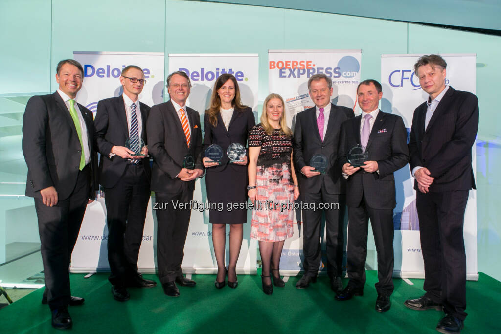 Deloitte Österreich: CEO/CFO Awards des Jahres 2013: Leadership in Krisenzeiten hoch im Kurs (c) BE/Draper, © Aussendung (24.04.2014)