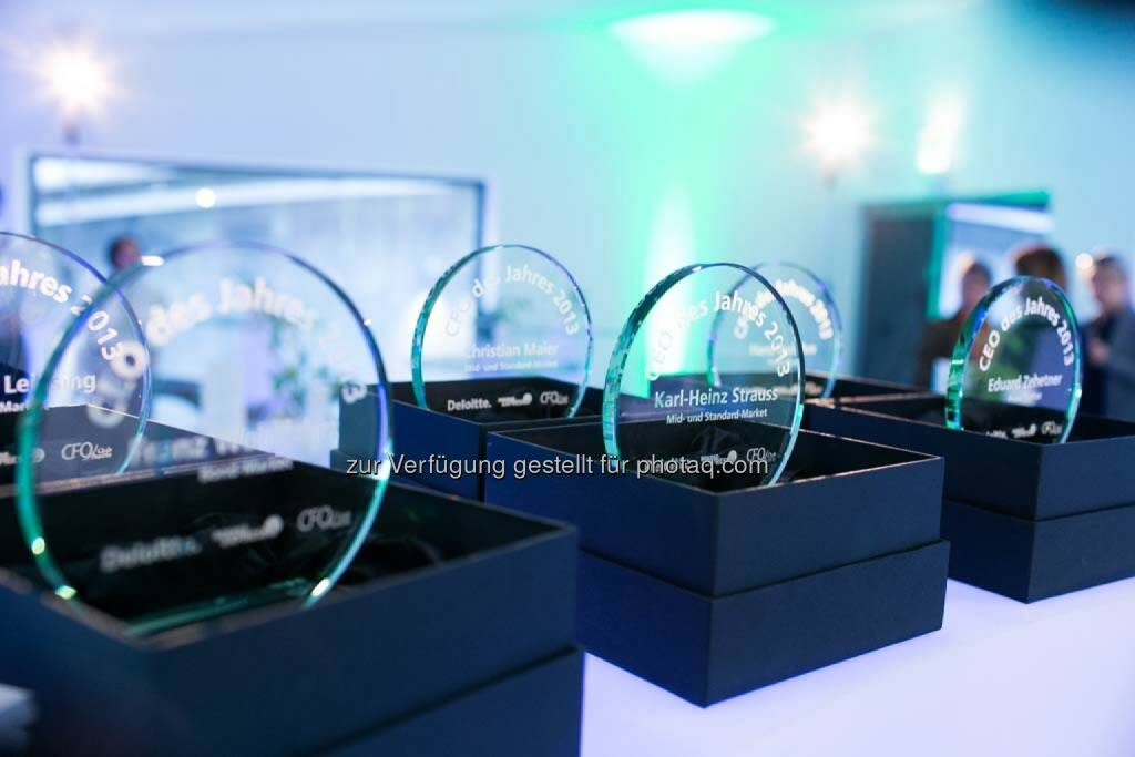 CEO/CFO Awards 2014, Awards, © Martina Draper für BE  (27.04.2014)