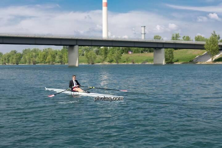 Ruhe, Wasser, Gerald Pollak, Sport und Business, rot-weiss-rot