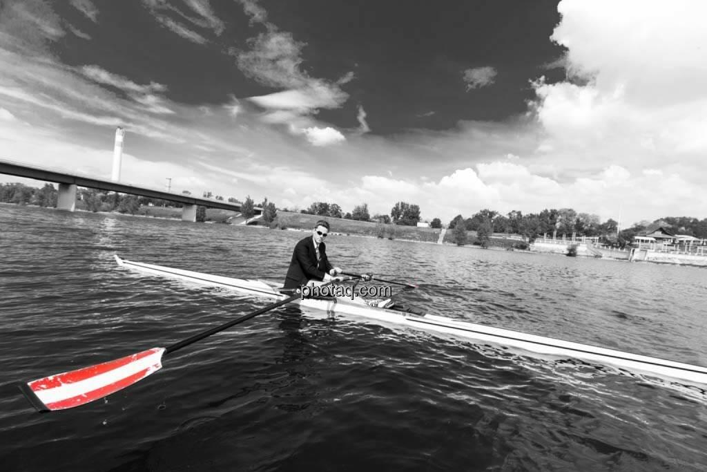 Gerald Pollak, Sport und Business, rot-weiss-rot, © finanzmarktfoto.at/Martina Draper (27.04.2014)