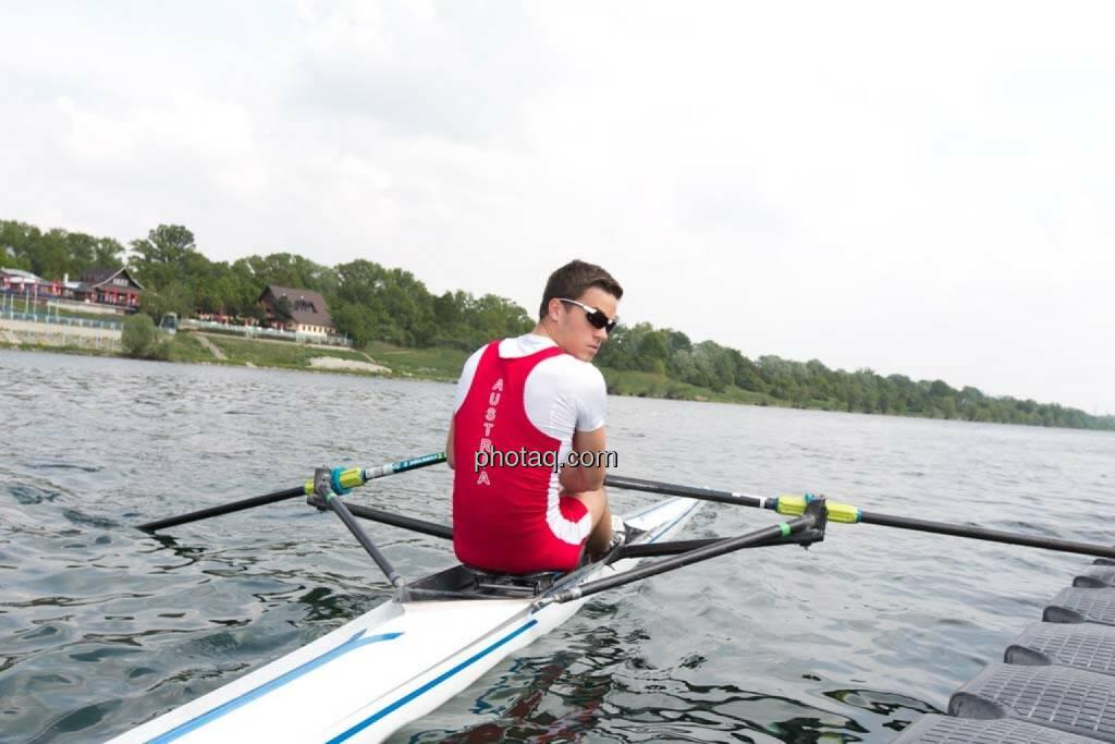 Blick zurück,  Gerald Pollak, Sport und Business, rot-weiss-rot, © finanzmarktfoto.at/Martina Draper (27.04.2014)