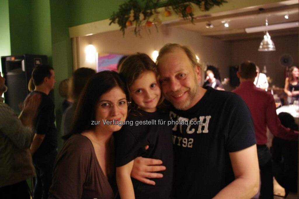 Naomi Fiby, Heinz Karasek, © Das Heinz (20.12.2012)
