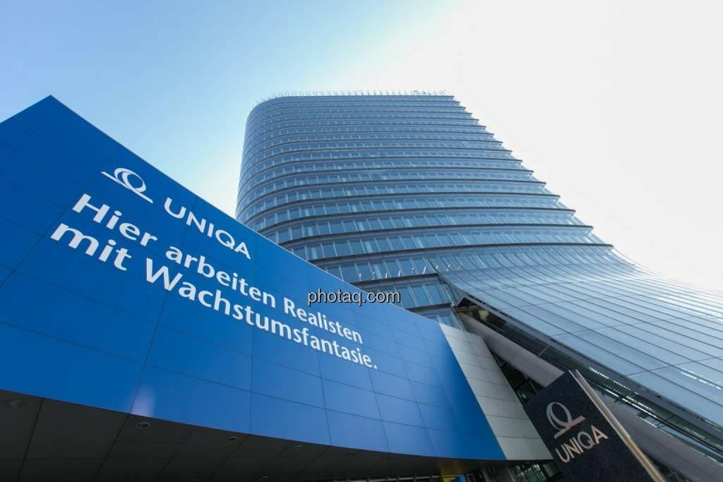 Wien, Uniqa Tower, © finanzmarktfoto.at/Martina Draper (27.04.2014)