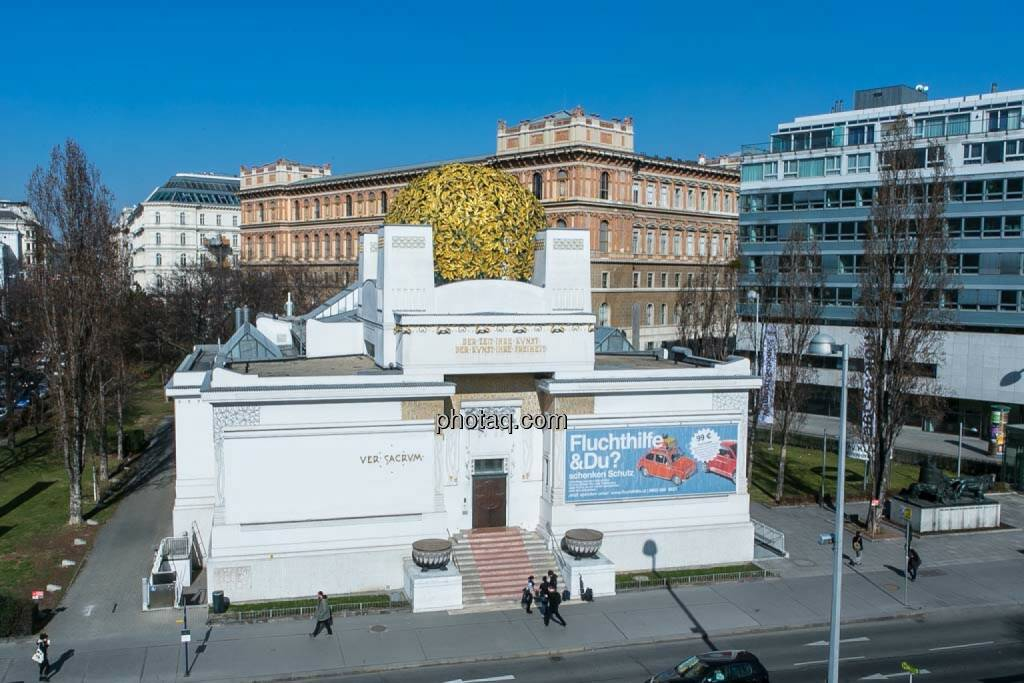 Wien, Secession, © finanzmarktfoto.at/Martina Draper (27.04.2014)