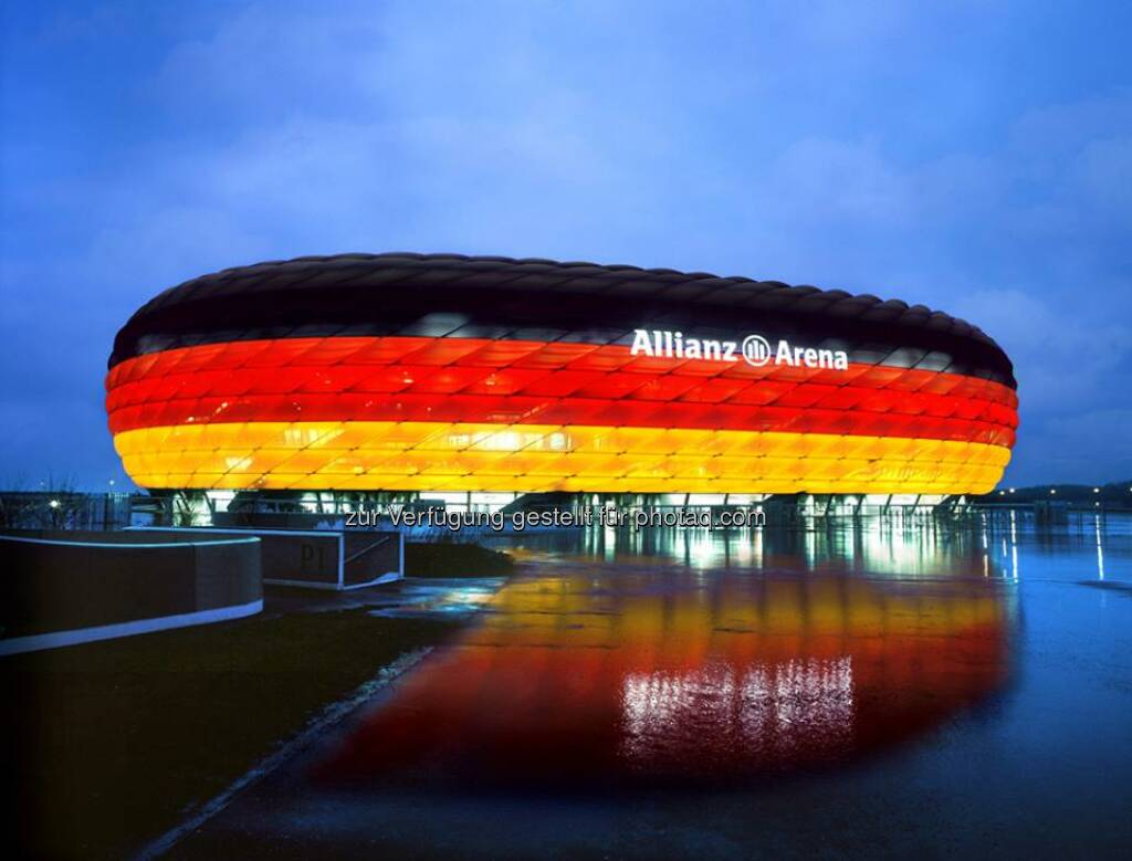 Deutschland, Fusball, Allianz Arena, Source: http://facebook.com/allianzdeutschland (26.04.2014)