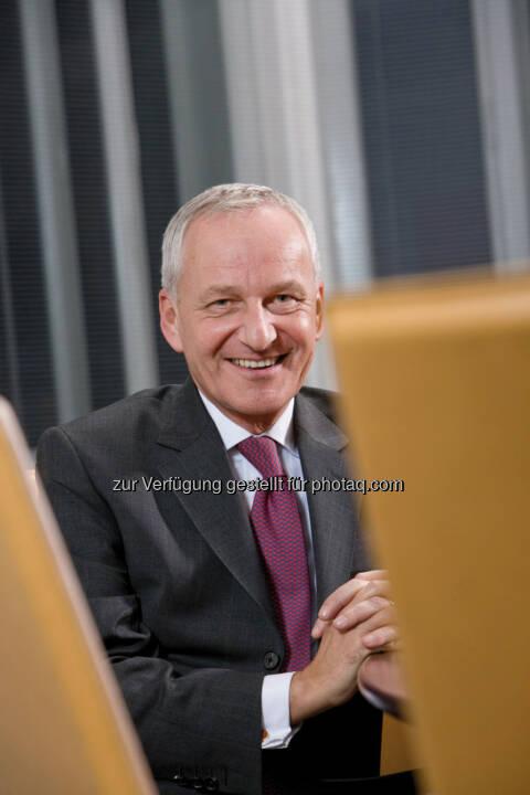 Willfried Kantner, Niederlassungsleiter des Bankhaus Spängler in Wien