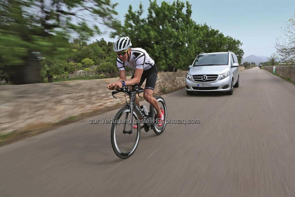 Mercedes-Benz ist Official Car Partner der Ironman® European Tour (27.04.2014)