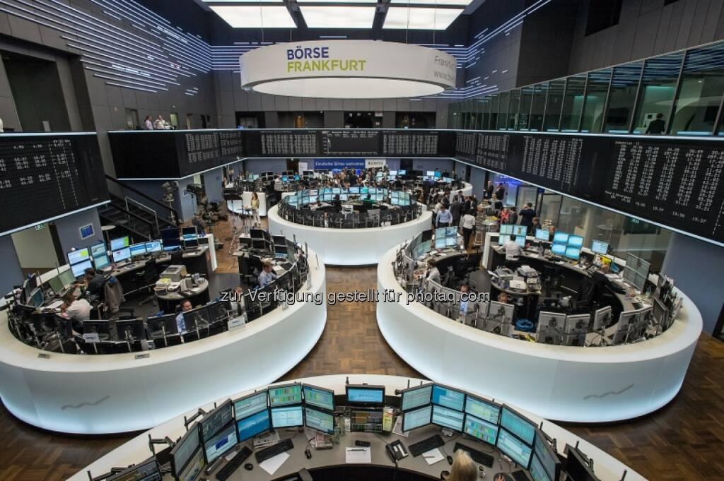 Börse Frankfurt, Trading, © Immofinanz (29.04.2014)