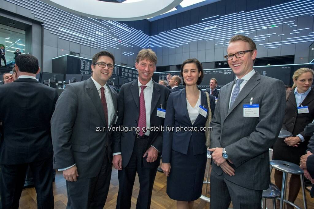 Birgit Noggler (Immofinanz), Sebastian Fuchs (VictoriaPartners), © Immofinanz (29.04.2014)