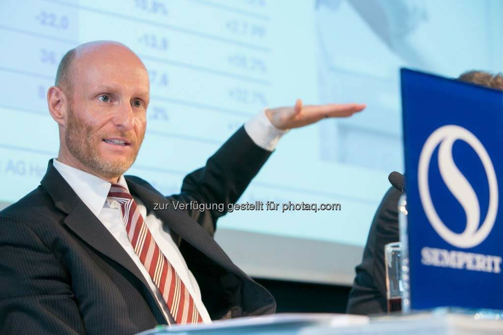 Johannes Schmidt-Schultes (CFO Semperit), © Martina Draper für Semperit (29.04.2014)