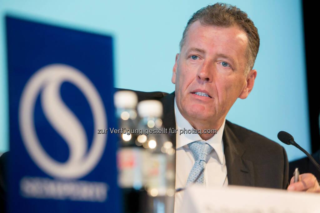 Thomas Fahnemann (CEO Semperit AG) - Semperit AG Holding Hauptversammlung beschließt 0,90 EUR Dividende plus 0,30 EUR Jubiläumsbonus je Aktie (Bild: Semperit) (29.04.2014)