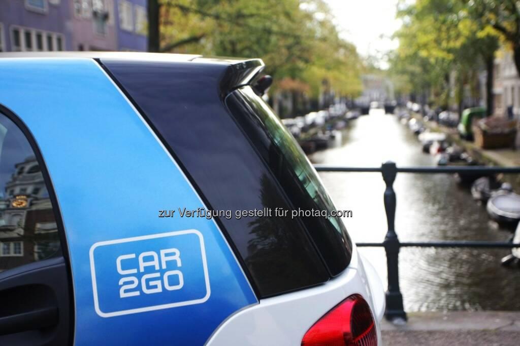 car2go, Amsterdam Grachten, © car2go (29.04.2014)
