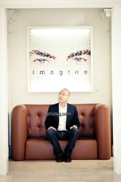 UPside award-Initiator Christian Drastil, imagine (finanzmarktfoto.at/Michaela Mejta) (01.05.2014)