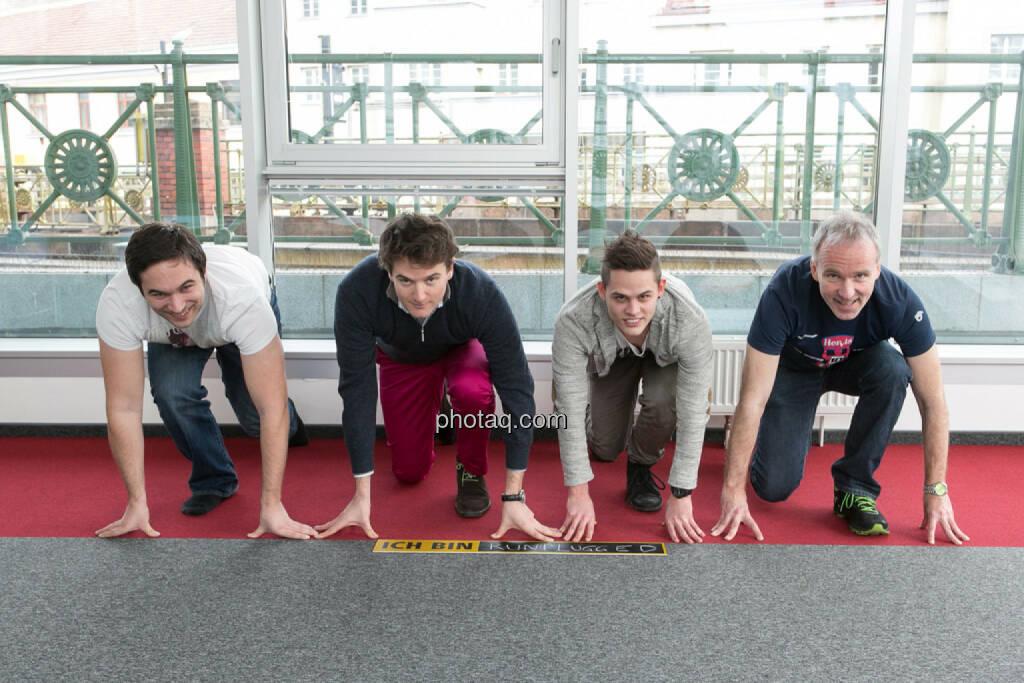 Hannes Satz, Maximilian Nimmervoll, Mario Hahn (Tailored Apps); Christian Drastil, © runplugged.com/Martina Draper (01.05.2014)