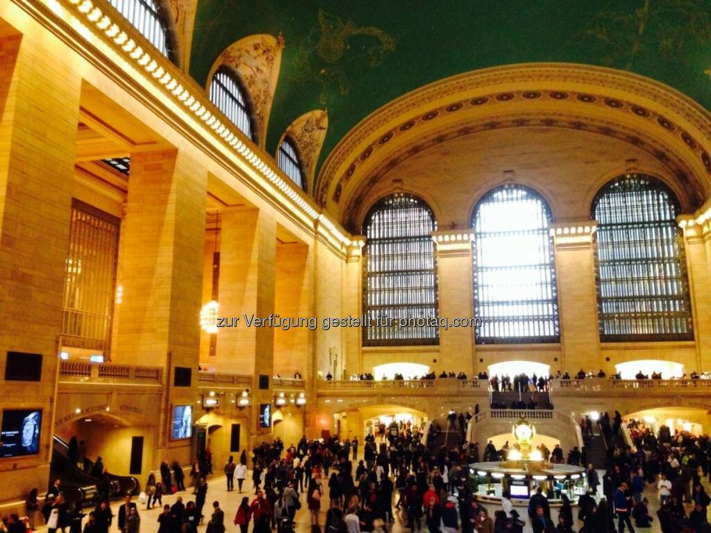 Central Station New York, © Sylvia Dellantonio (01.05.2014)