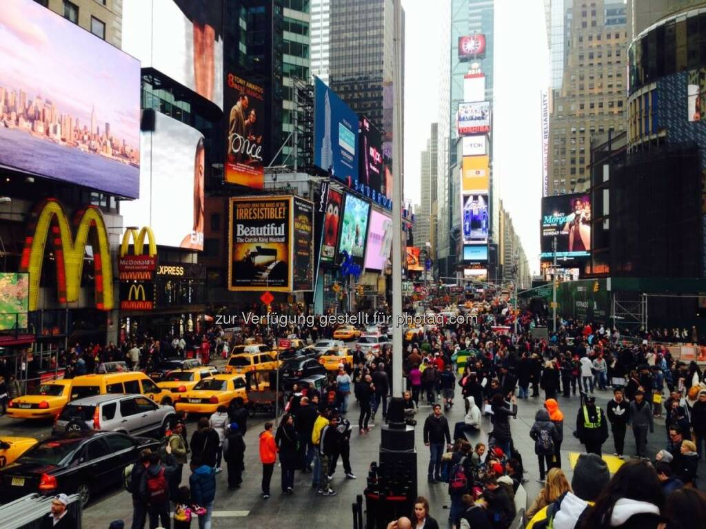 Times Square New York, © Sylvia Dellantonio (01.05.2014)