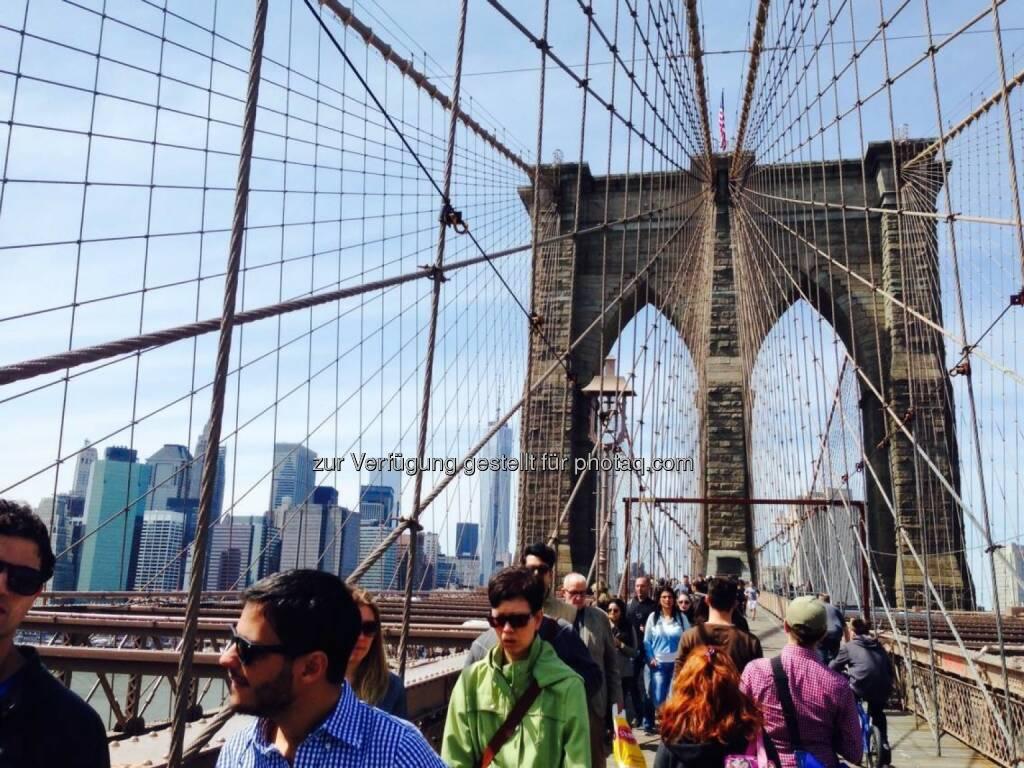 Brooklyn Bridge, © Sylvia Dellantonio (01.05.2014)