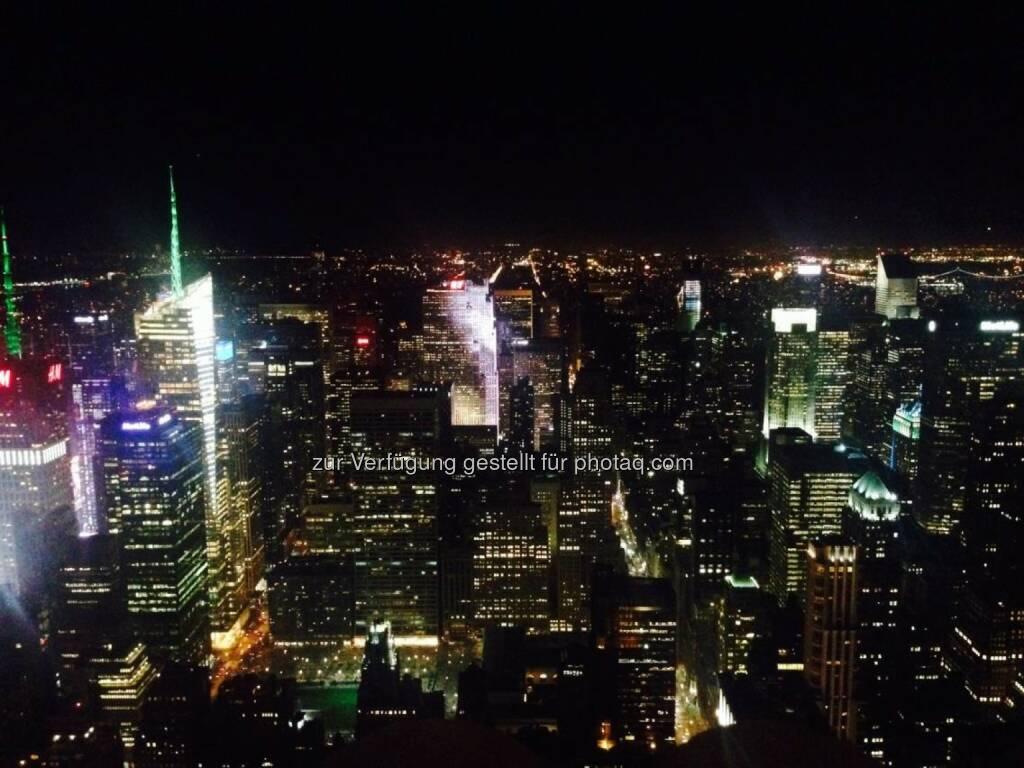 New York bei Nacht, © Sylvia Dellantonio (01.05.2014)
