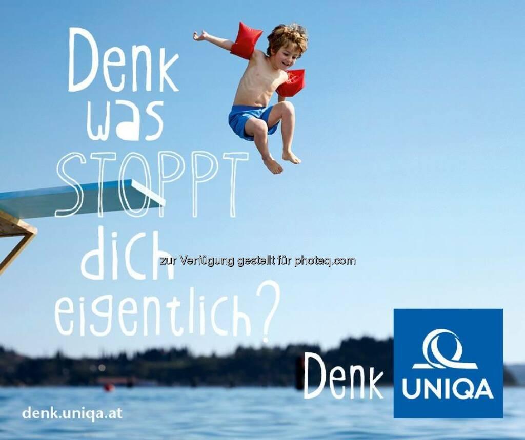 Denkanstöße für mehr Lebensfreude Uniqa  http://facebook.com/uniqa.at (02.05.2014)