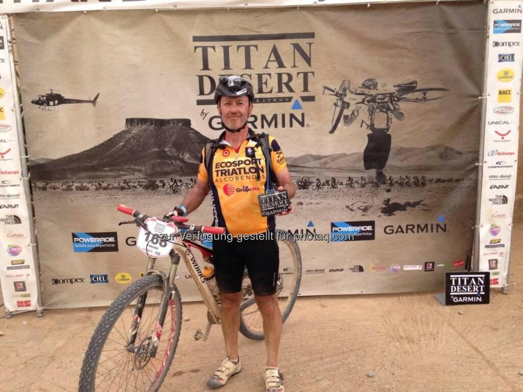 Hansi Hansmann mit Rad in Marokko (02.05.2014)