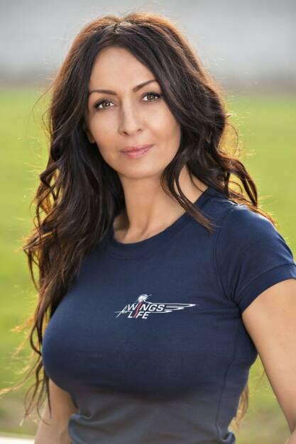 Mihaela Radulescu Schwartzenberg, © Wings for Life World Run / Red Bull (04.05.2014)