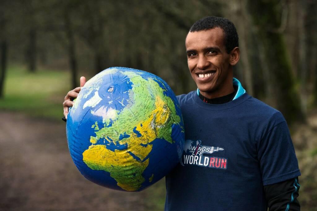 Wings for Life World Run, Globus, Erde, © Wings for Life World Run / Red Bull (04.05.2014)