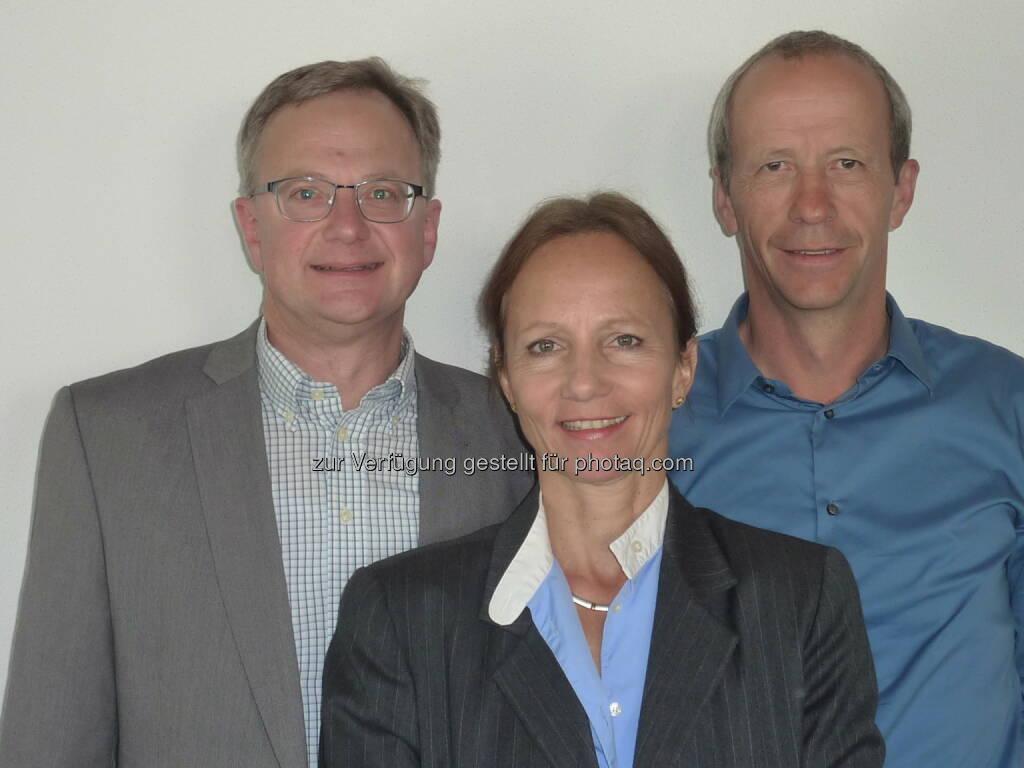 wikopreventk GmbH: Neues Führungsteam für TAL Österreich: Executive Manager Andreas Landsteiner, TAL-Geschäftsführerin Ulrike Andres, Betriebsleiter Christian Wilhelmer  (05.05.2014)