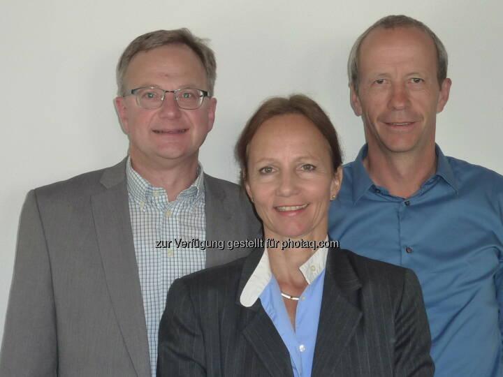 wikopreventk GmbH: Neues Führungsteam für TAL Österreich: Executive Manager Andreas Landsteiner, TAL-Geschäftsführerin Ulrike Andres, Betriebsleiter Christian Wilhelmer