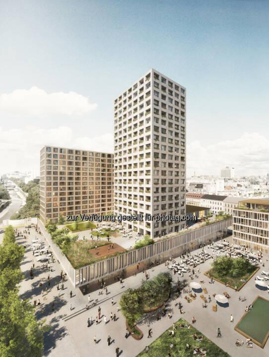WertInvest Hotelbetriebs GmbH: Neugestaltung des Areals Hotel InterContinental Wien / Eislaufverein / Konzerthaus