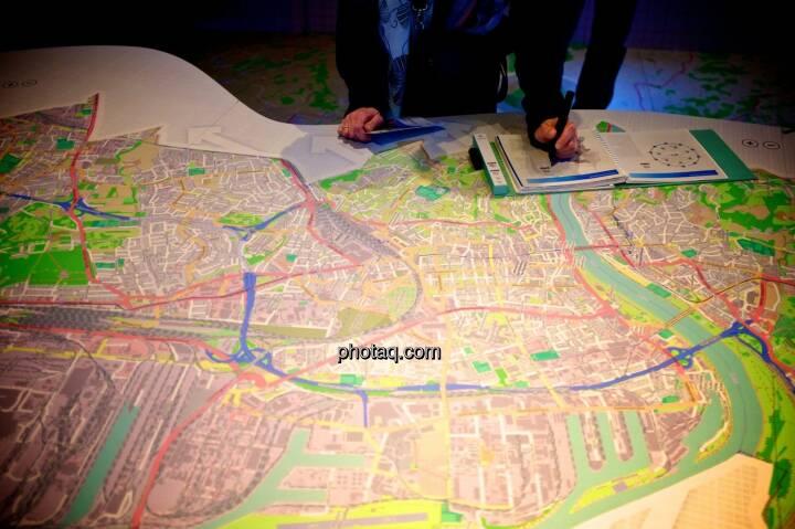 Stadtplan, Linz, Ars Electronica Center