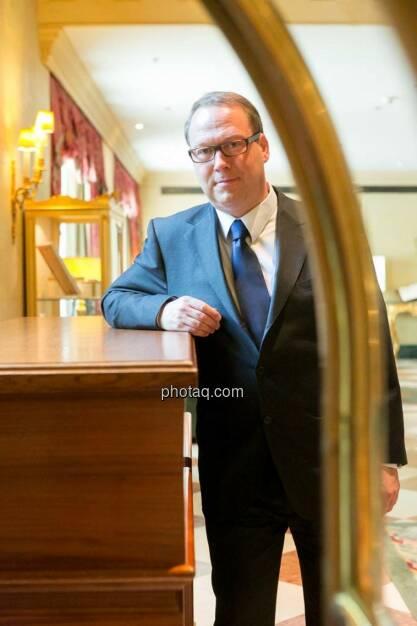 Max Otte, Direktor IFVE Institut für Vermögensentwicklung GmbH, © finanzmarktfoto.at/Martina Draper (05.05.2014)