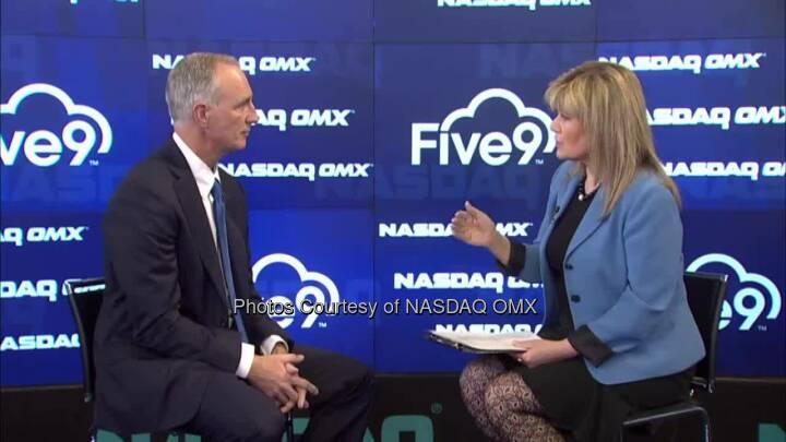 NASDAQ OMX CEO Signature Series Interview with Five9_Inc CEO Mike Burkland Source: http://facebook.com/NASDAQ