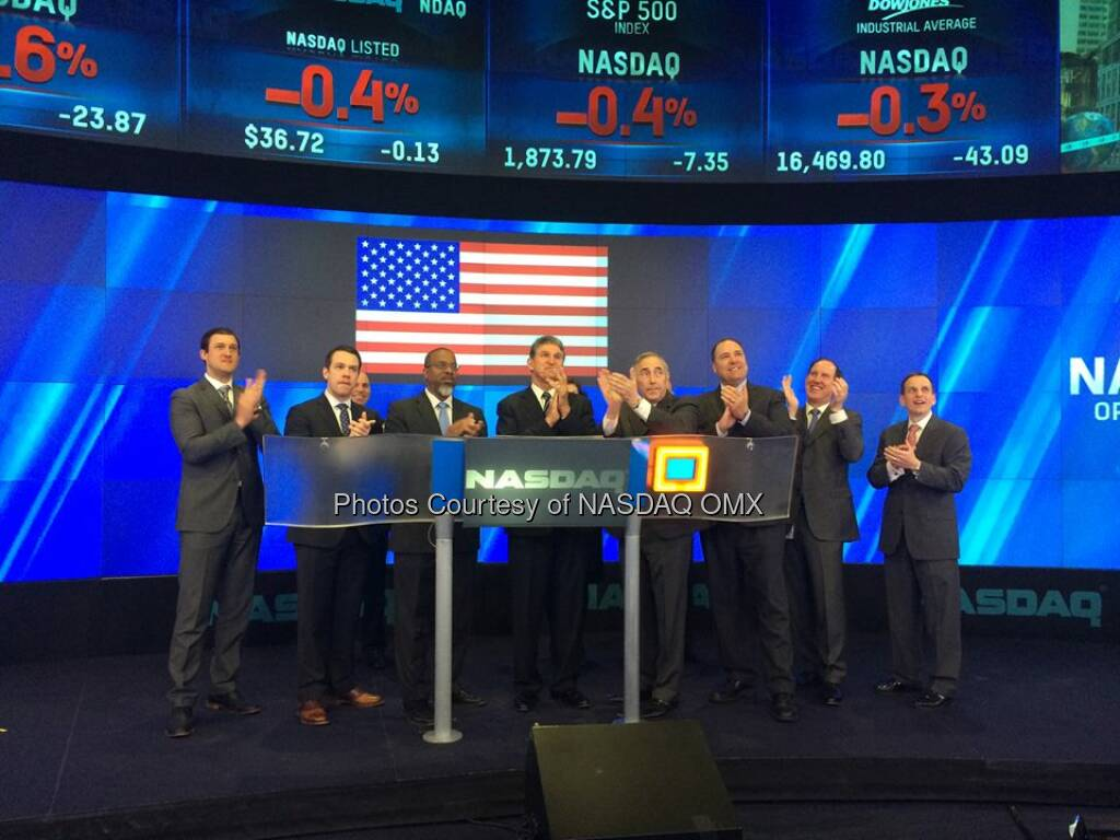 Senator Joe Manchin III rings the #NASDAQ Opening Bell Source: http://facebook.com/NASDAQ (05.05.2014)