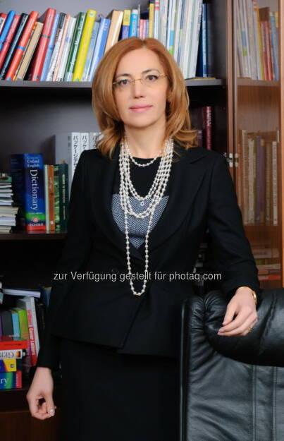 Ukrplastic: Stiftungsgründerin Irina Mirochnik:Die Galkin Stiftung wurde zur Unterstützung der talentierten Studenten gegründet, die sich für die Wissenschaft begeistern, zur Förderung der Entwicklung der Verpackungsindustrie und Erweiterung des innovativen Wirtschaftssektors in der Ukraine., © Aussendung (06.05.2014)