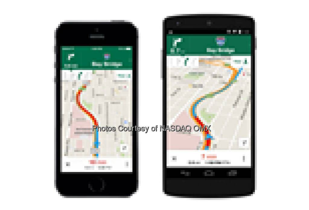 Google Maps just got a huge update - here are the 5 best new features http://bit.ly/1qbiahT Following a few substantial additions to Google Now, Google announced on Tuesday that Google Maps for iOS and Android would be receiving a major update. There's plenty to explore in the updated Goo... Source: http://facebook.com/NASDAQ (07.05.2014)