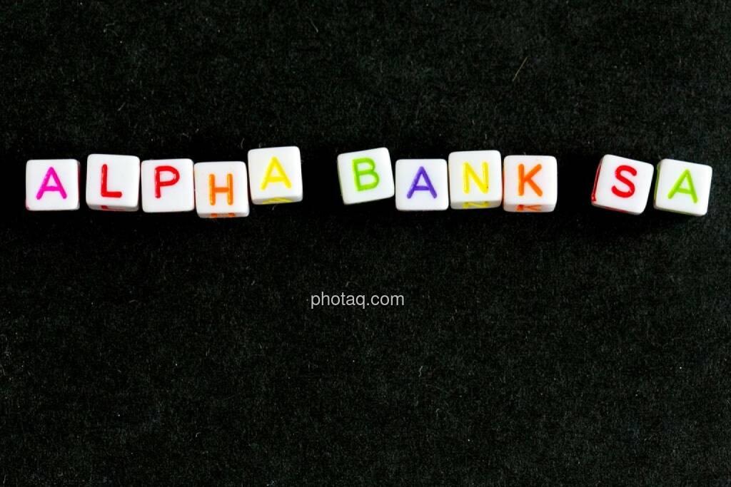 Alpha Bank, © finanzmarktfoto.at/Martina Draper (07.05.2014)