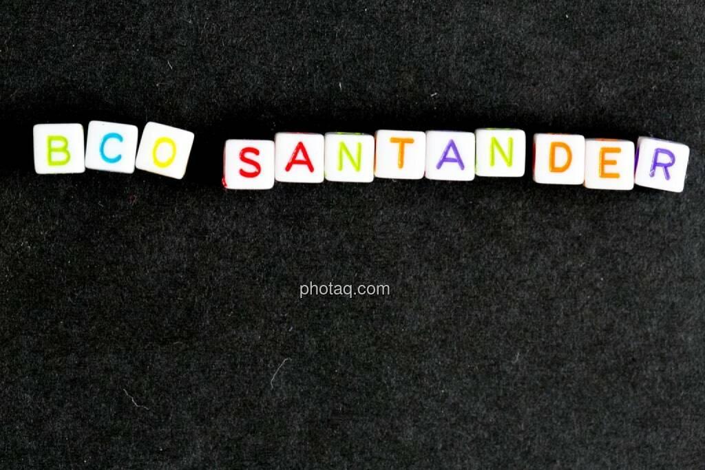BCO Santander, © finanzmarktfoto.at/Martina Draper (07.05.2014)