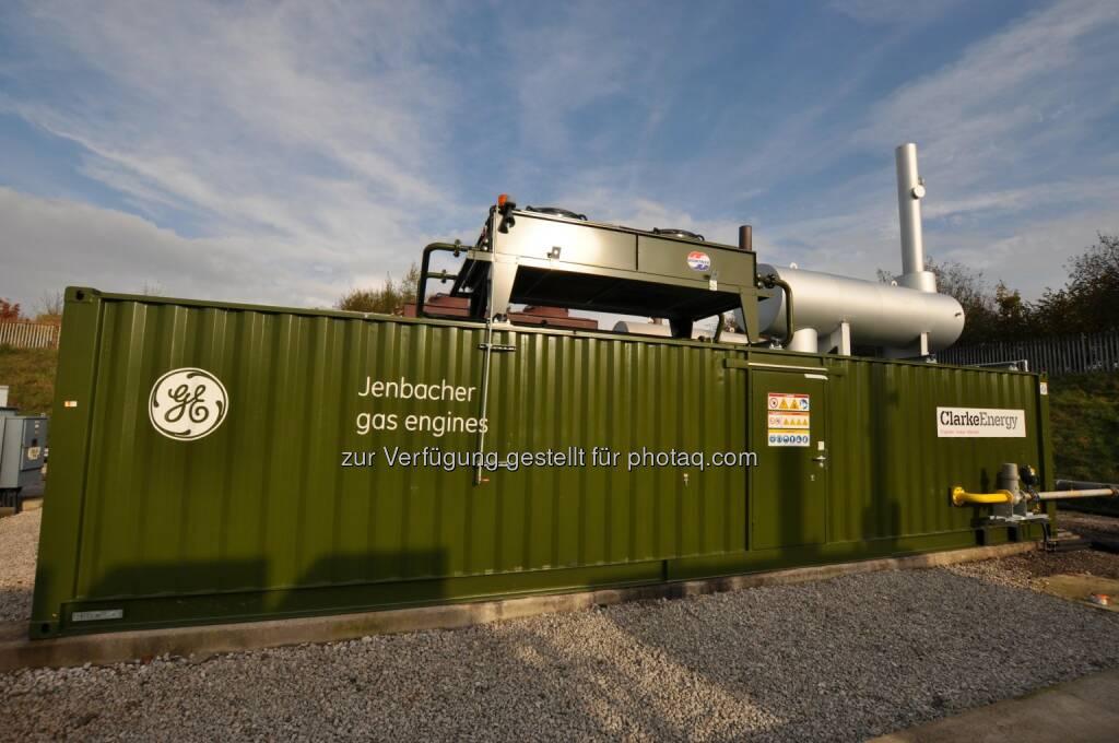 Der britische Abfallverwerter Biffa hat soeben acht moderne Jenbacher Gasmotoren von GE geordert, die in mehreren Deponiegasanlagen in ganz Großbritannien zum Einsatz kommen werden. (Bild: Jenbacher Gasmotoren von GE) (07.05.2014)
