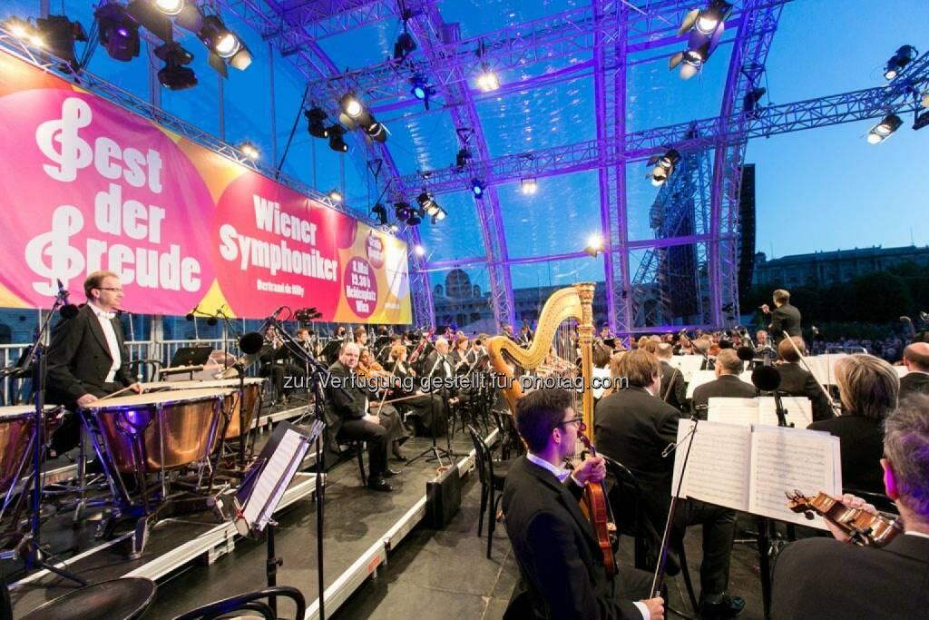 auf der Bühne, Fest der Freude 2014, © Martina Draper für Wiener Symphoniker (09.05.2014)