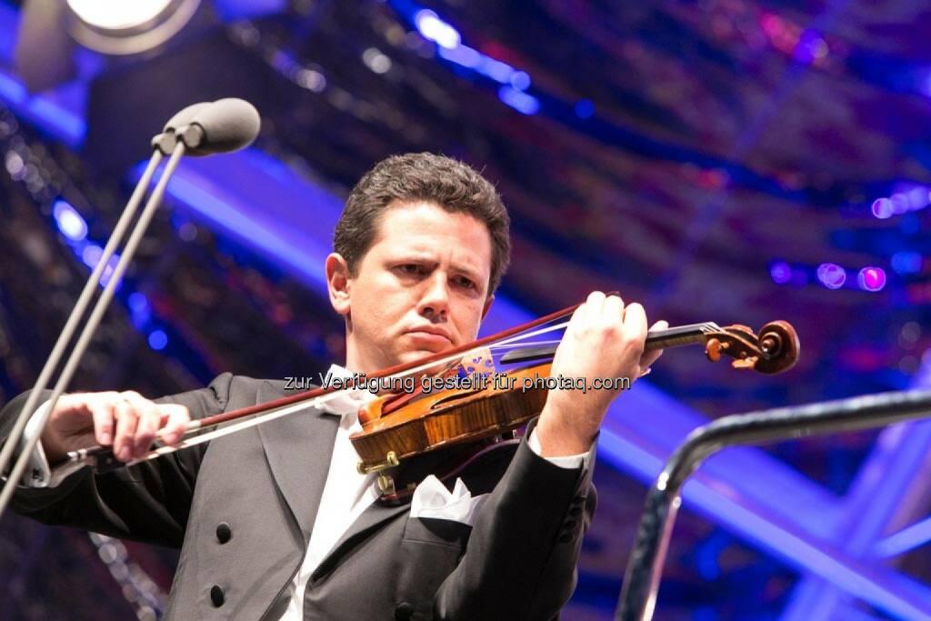 1. Konzertmeister Anton Sorokow, Fest der Freude 2014, © Martina Draper für Wiener Symphoniker (09.05.2014)
