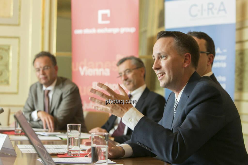 Heimo Scheuch (Wienerberger, links), Stefan Maxian (RCB, rechts), © Martina Draper (15.12.2012)