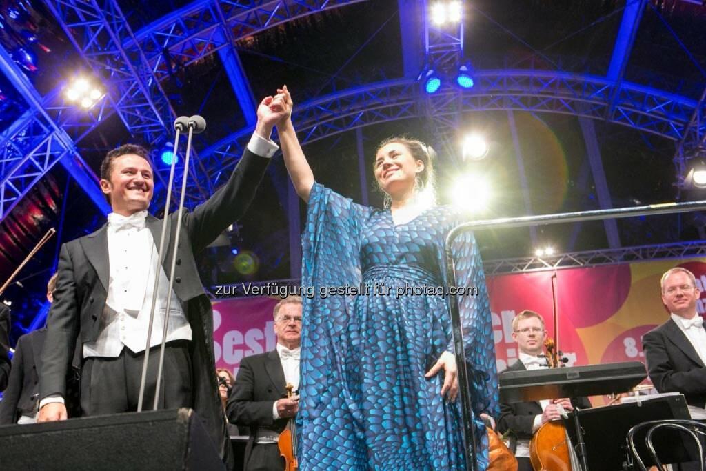 Tenor Piotr Beczala, Sopranistin Sonya Yoncheva, Fest der Freude 2014, © Martina Draper für Wiener Symphoniker (09.05.2014)