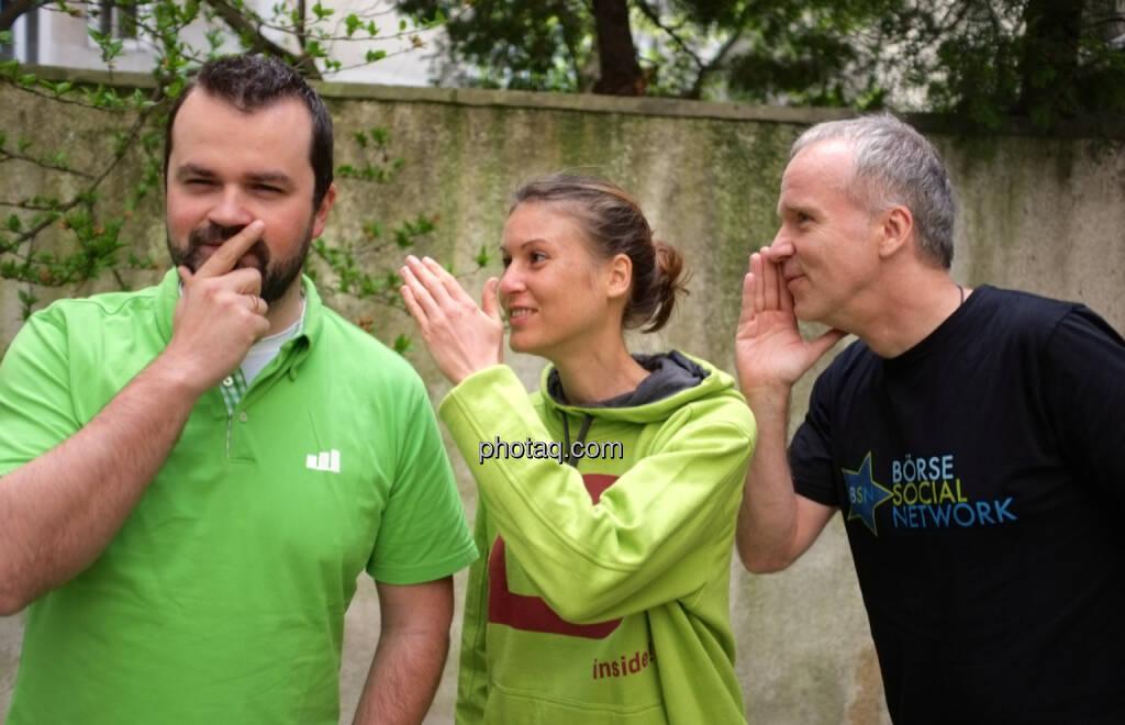wikifolio whispers: Stefan Greunz, Christina Oehler, Christian Drastil (09.05.2014)