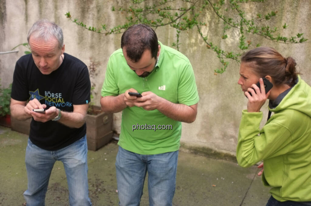 wikifolio whispers: Christian Drastil, Stefan Greunz, Christina Oehler (09.05.2014)