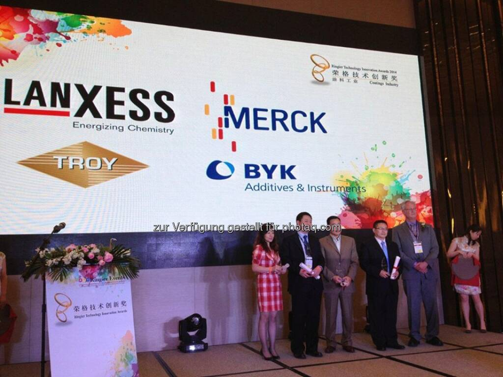 Lanxess Bayferrox 303 T has won the 2014 Ringier Technology Innovation Awards for the Coating Industry for its extreme heat stability and low flocculation behavior. More here: http://lanxess.com/en/corporate/about-lanxess/company-news/ringier-technology-innovation-awards-for-lanxess-inorganic-pigmen/ Source: http://facebook.com/LANXESS, © Aussendung (09.05.2014)
