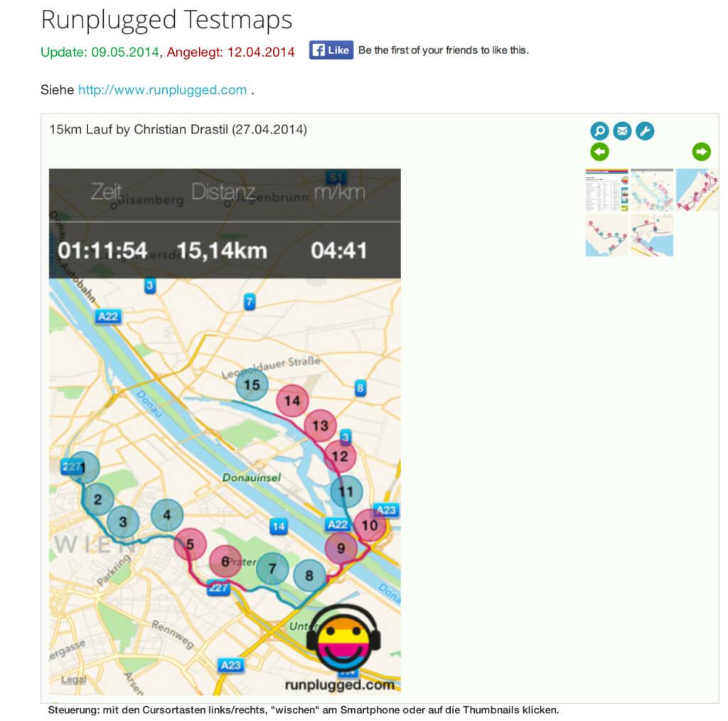 (WEB / APP) Runplugged-Maps sehen so aus: http://finanzmarktfoto.at/page/index/1178 - zum Sharen wie zB Mail oder Posten auf Facebook (10.05.2014)