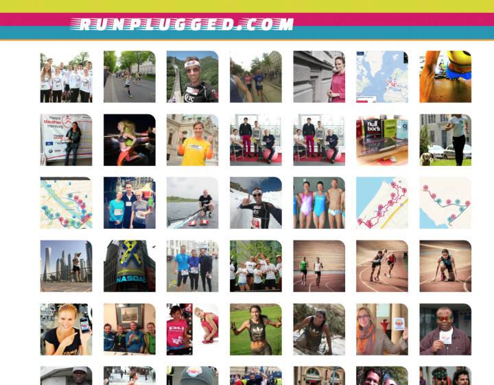 (WEB) Runplugged Bildermashup - http://runplugged.com/mashup