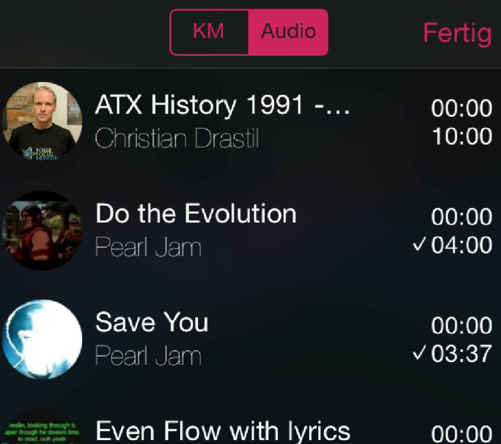 Ein Schreibtischtest: 10:00 Runplugged-Zeit eingegeben und meine ATX-History mit Pearl Jam (habe ich am Handy) gemischt. Alle 10 Min wurde gewechselt und die Files spielen beim Wechsel immer dort weiter, wo zuletzt pausiert wurde. Wichtig: Ihr müsst nicht mixen und könnt natürlich auch zwei Musiklisten in Rotation schicken. Der Finanzcontent ist keinesfalls Pflicht ... Appdownload unter http://bit.ly/1lbuMA9 (10.05.2014)